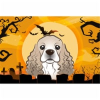 Halloween Cocker Spaniel Fabric Placemat