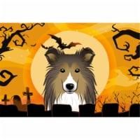 Halloween Sheltie Fabric Placemat