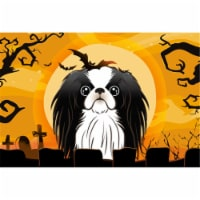 Halloween Japanese Chin Fabric Placemat
