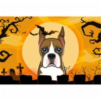 Halloween Boxer Fabric Placemat