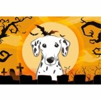 Halloween Dalmatian Fabric Placemat
