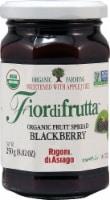 Rigoni di Asiago Fiordifrutta Organic Fruit Spread - Blackberry - 8.82 oz