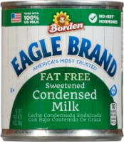 Eagle Brand Fat Free Sweetened Condensed Milk