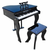 Schoenhut Toy Piano 372B 37 key Black Elite Baby Grand