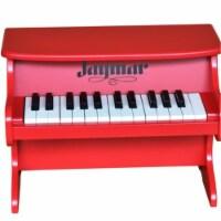 Schoenhut 8225R 25 Key Jaymar Table Top Piano, Red