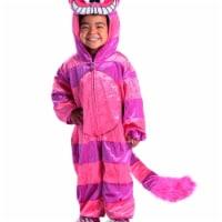 Princess 410099 Girls Cheshire Cat Jumpsuit Child Costume - Large