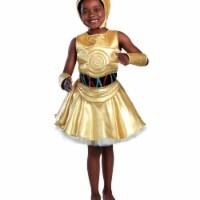 Princess Paradise 278072 Halloween Girls Classic Star Wars C-3Po Dress Costume - Small - 1