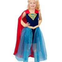 Princess Paradise 249844 Super Hero Girls Premium Child Supergirl Formalwear - Medium
