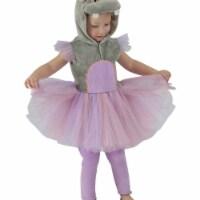 Princess 410112 Girls Princess Hippo Child Costume - NS