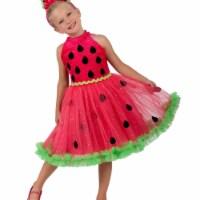 Prin5500 280627 Girls Watermelon Miss Costume, Small 6 - 1