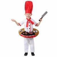 Princess 409971 Boys Hibachi Chef Table Top Child Costume - Medium - 1