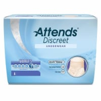 Attends Healthcare Products 48ADUF20 8 to 14 Medium Women Discreet Underwear - 1