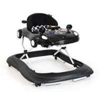 Costway 2-in-1 Foldable Baby Walker w/ Adjustable Heights & Music Player & Lights - 1 unit