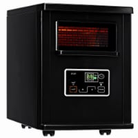 Gymax Remote Control 1500W Electric Heater Portable Infrared Space Heating Machine w/ LED - 1 unit