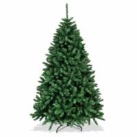 Costway 6ft Hinged Christmas Tree Douglas Full Fir Tree 1355 Tips - 1 unit