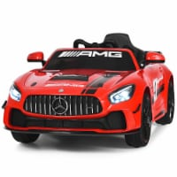 Gymax Licensed Kids Ride On Car 12V Electric Mercedes Benz Toy Car with 2.4G Remote Control - 1 unit