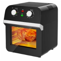 Costway 12.7QT Air Fryer Oven 1600W Rotisserie Dehydrator Convection Oven w/ Accessories - 1 unit