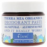 Tierra Mia Organics  Deodorant Paste Floral