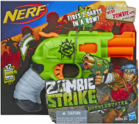 Nerf Zombie Strike Doublestrike Blaster - 1 ct
