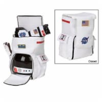 Polyester and Faux Leather Astronaut Back Pack - 1
