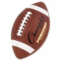 Pro Composite Football, Intermediate Size, 21 in., Brown