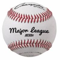 3 in. Major League Baseball, White & Red - Pack of 12