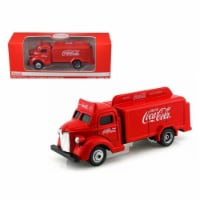 1947 Coca Cola Delivery Bottle Truck Red 1 87 Diecast Model - 1