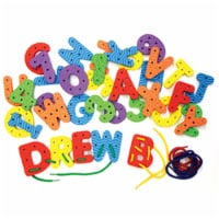 Wonderfoam Lacing Letters and Numbers