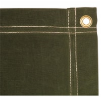5 x 7 ft. Canvas Tarp - Olive Drab - 1