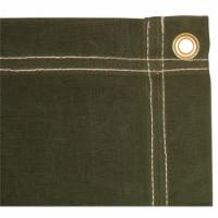 7 x 9 ft. Canvas Tarp - Olive Drab - 1