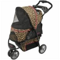Promenade Pet Stroller, Cheetah