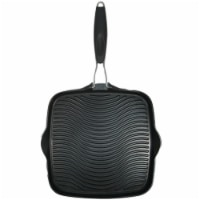 10 x 10 in. Grill Pan with Foldable Handle