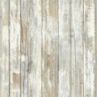 Distressed Wood Peel & Stick Wallpaper - 1