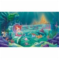 6 ft. x 10.5 ft. The Little Mermaid XL Wallpaper Mural - 1
