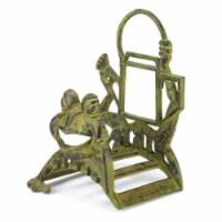 Cast Iron Frog Garden Hose Holder - 1