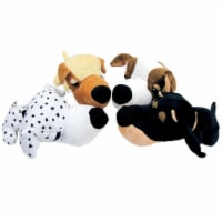 088335D 7 in. Fathedz Plush Mini Dog Toy - pack of 12