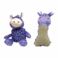 08847 Shaggy Plush Dog Toy Assorted Styes - 1