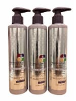 Pureology Smooth Perfection Cleansing Conditioner Dry Color Treated Hair 8.5 OZ Set of 3 - 1