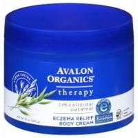 Avalon Organics Colloidal Oatmeal Therapy Eczema Relief Body Cream - 10 oz
