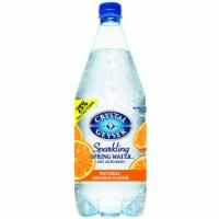 Crystal Geyser Orange Sparkling Mineral Water