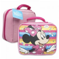 Mickey Mouse 802168 Minnie Mouse Disney Soft Lunch Box Bag - 1