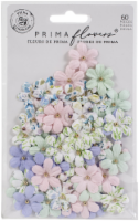 Prima Marketing Mulberry Paper Flowers-Watercolor Beauty/Watercolor Floral - 1