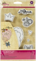 Prima Marketing Julie Nutting Mixed Media Cling Rubber Stamp-Clarissa - 1