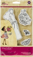 Prima Marketing Julie Nutting Mixed Media Cling Rubber Stamp-Phoebe - 1