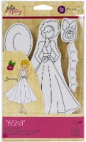 Prima Marketing Julie Nutting Mixed Media Cling Rubber Stamp-Aisha - 1