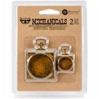 Finnabair Mechanicals Metal Embellishments-Pocket Watches 2/Pkg - 1