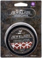 Finnabair Art Extravagance Jewel Texture Paste 100ml Jar-Crushed Amber - 1