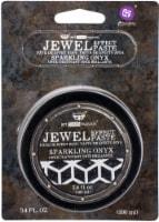Finnabair Art Extravagance Jewel Texture Paste 100ml Jar-Sparkling Onyx - 1