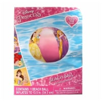 Disney Princess Inflatable Beach Ball Cinderella Belle Rapunzel Pool Water Fun What Kids Want - 1 unit