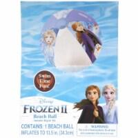 Disney Frozen 2 Inflatable Beach Ball Anna Elsa Princess Pool Party Swim What Kids Want - 1 unit
